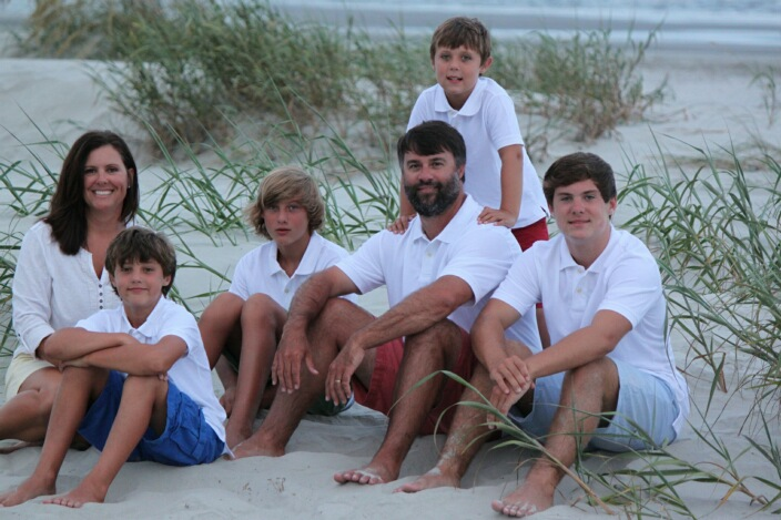 Dr. Roberson and Family - Roberson Family Dentistry - Dentist in Henderson, NC