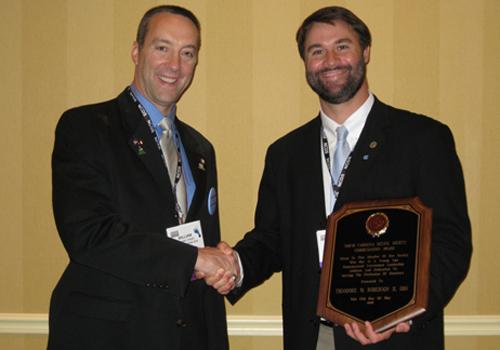 Commendation Award - Dr. Roberson - Henderson, NC - Dentist